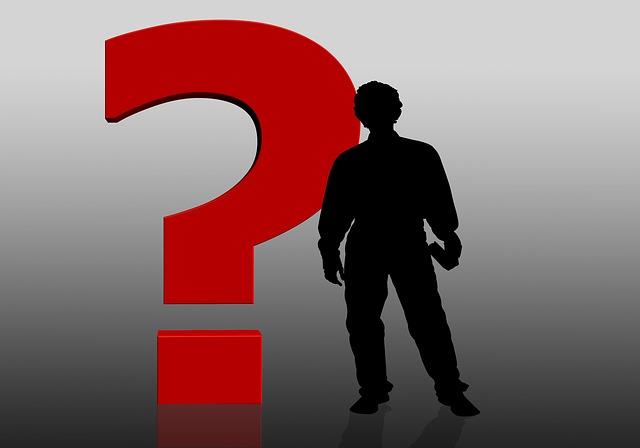 Man Question Mark Inner Critic