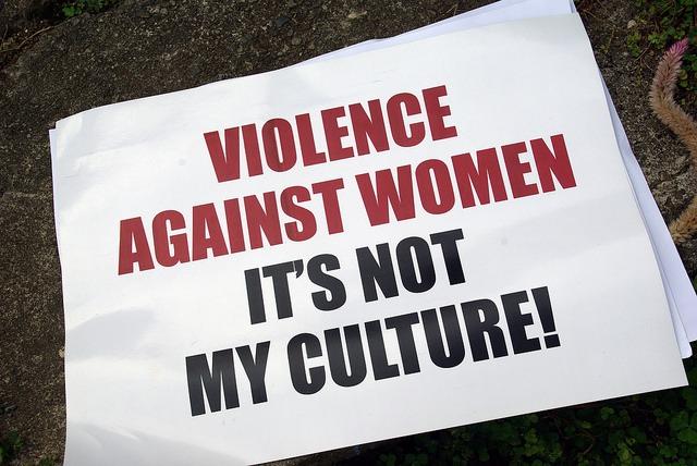 violence against women not culture