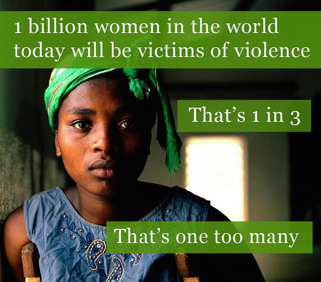 violence against women is too common